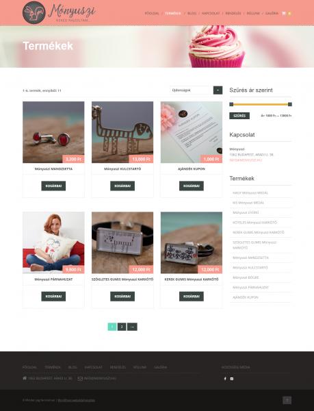 WordPress webáruház készítés  72bd802fb8