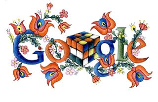Kovács Illés: Google Doodle