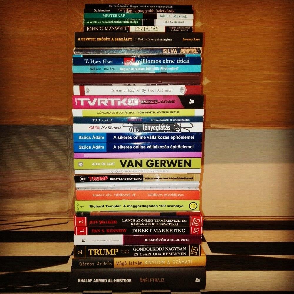 2018-ban olvasott könyvek